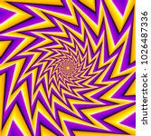 yellow and purple  spin...   Shutterstock .eps vector #1026487336