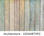 wood background or texture with ... | Shutterstock . vector #1026487492
