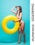 full body sexy woman in... | Shutterstock . vector #1026589942