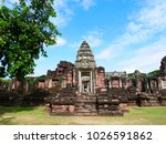 castle in thailand on a clear...   Shutterstock . vector #1026591862