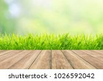 natural green background with... | Shutterstock . vector #1026592042