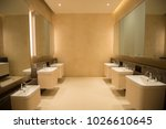 public toilet facilities | Shutterstock . vector #1026610645