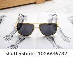 sunglasses eyewear photography | Shutterstock . vector #1026646732