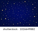 night sky and stars | Shutterstock .eps vector #1026649882
