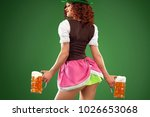 st patricks day. young sexy...   Shutterstock . vector #1026653068