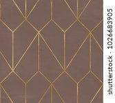 seamless geometric pattern on... | Shutterstock . vector #1026683905