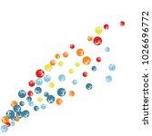 vector confetti background... | Shutterstock .eps vector #1026696772