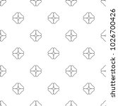 seamless vector pattern in... | Shutterstock .eps vector #1026700426