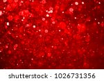 red bokeh abstract background. | Shutterstock . vector #1026731356