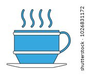 coffee mug symbol | Shutterstock .eps vector #1026831172