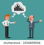 men are businessmen who swear... | Shutterstock .eps vector #1026850036