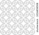 seamless vector pattern in... | Shutterstock .eps vector #1026858508