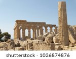 Small photo of greek ruins of selinunte