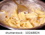 penne rigate pasta  cooking...   Shutterstock . vector #10268824