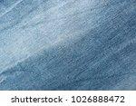 blue blue white denim fabric... | Shutterstock . vector #1026888472