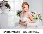 portrait of a beautiful girl in ...   Shutterstock . vector #1026896062