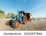 Old Fashioned Tractor   Vintag...