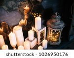Burning Candles Decorative In ...
