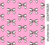 cute seamless pattern with... | Shutterstock .eps vector #1026958285
