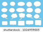 vector set of stickers of... | Shutterstock .eps vector #1026959005