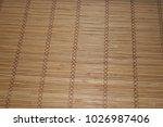 bamboo texture background | Shutterstock . vector #1026987406