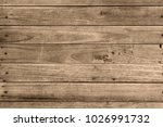 wood plank wall background | Shutterstock . vector #1026991732