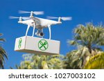 unmanned aircraft system  uav ... | Shutterstock . vector #1027003102