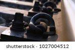 closeup of the railway  | Shutterstock . vector #1027004512
