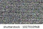 glitch background. computer... | Shutterstock . vector #1027010968