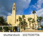 tel aviv  israel   january 2 ... | Shutterstock . vector #1027030756