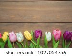 traditional objects for mother... | Shutterstock . vector #1027054756