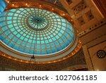 chicago  il  usa october 27 ... | Shutterstock . vector #1027061185