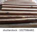 Sawn Timber Is Cut To Make A...