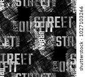 seamless pattern urban design.... | Shutterstock . vector #1027103266