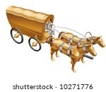 the horses with carriage | Shutterstock . vector #10271776