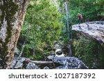 photographer asian women... | Shutterstock . vector #1027187392