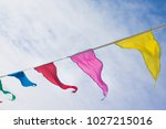 holiday decoration  buddhist... | Shutterstock . vector #1027215016