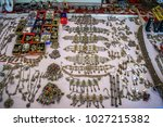 A Set Of Traditional Jewelry In ...