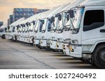 truck parking this immage... | Shutterstock . vector #1027240492