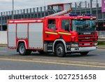 london  heathrow   uk   15 july ... | Shutterstock . vector #1027251658