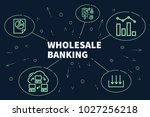 conceptual business... | Shutterstock . vector #1027256218