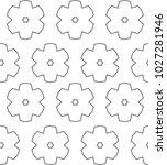 ornamental vector pattern ... | Shutterstock .eps vector #1027281946