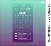 calendar app with to do list...