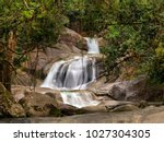 josephine falls  far north... | Shutterstock . vector #1027304305