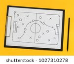 the scheme of the game.... | Shutterstock . vector #1027310278