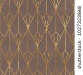 seamless geometric pattern. art ... | Shutterstock . vector #1027323868