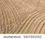 sand beach sea | Shutterstock . vector #1027331332