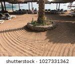 sand beach sea | Shutterstock . vector #1027331362