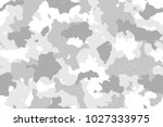 camouflage seamless pattern.... | Shutterstock .eps vector #1027333975