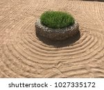sand on the beach  in the... | Shutterstock . vector #1027335172